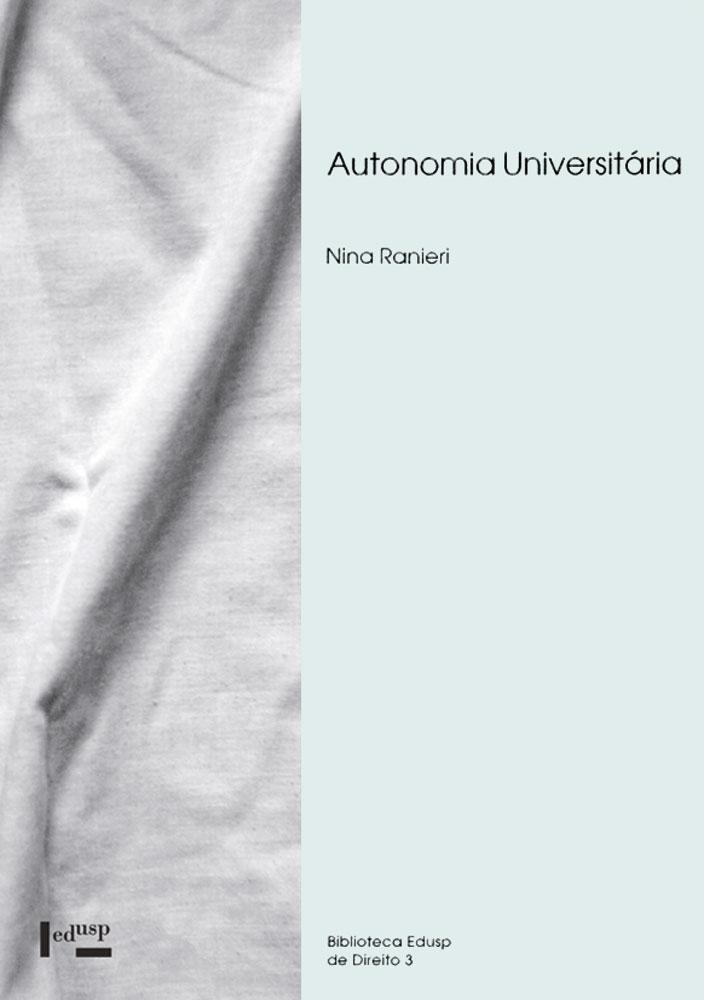 Capa de Autonomia Universitária