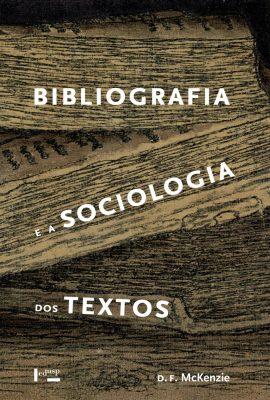Capa de Bibliografia e a Sociologia dos Textos