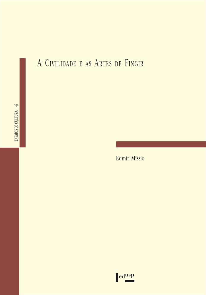 Capa de A Civilidade e as Artes de Fingir