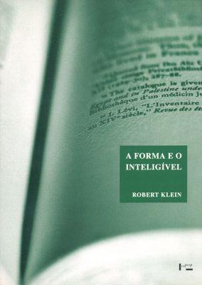 Capa de A Forma e o Inteligível