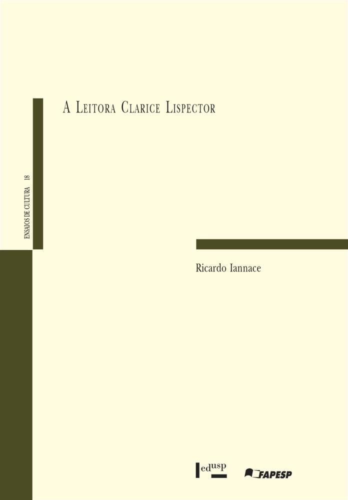 Capa de A Leitora Clarice Lispector