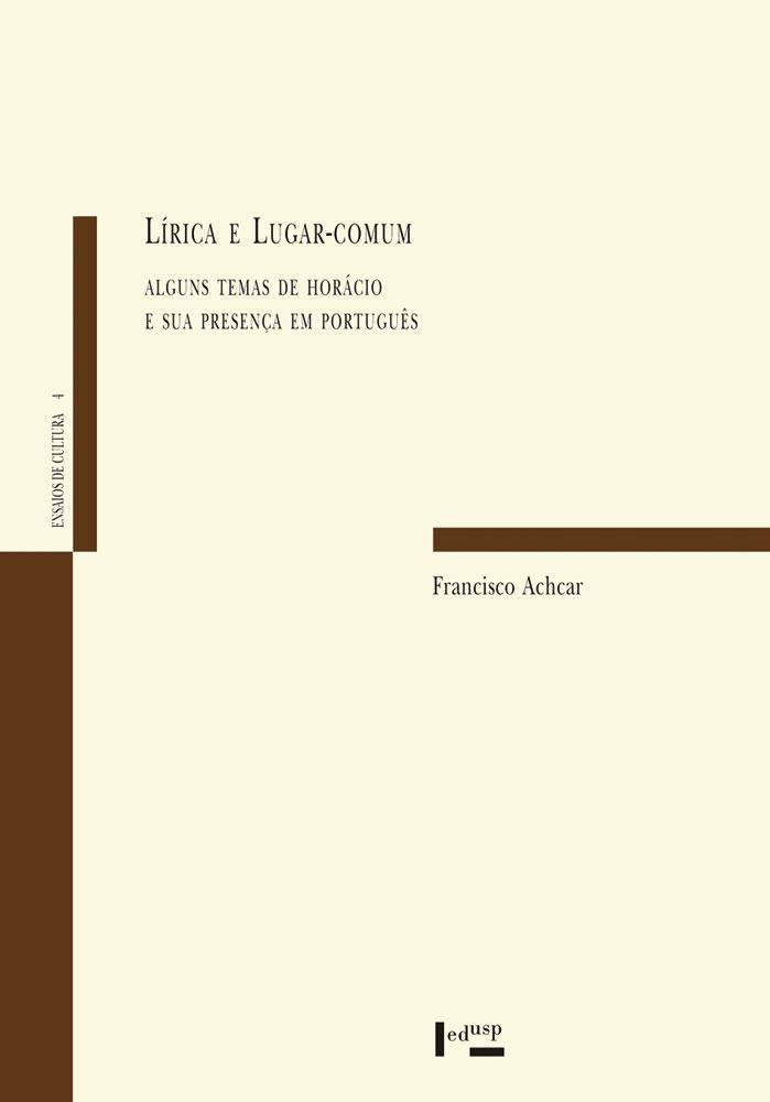 Capa de Lírica e Lugar-Comum