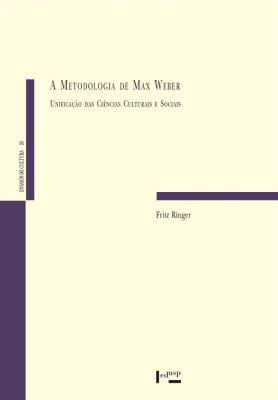 Capa de A Metodologia de Max Weber