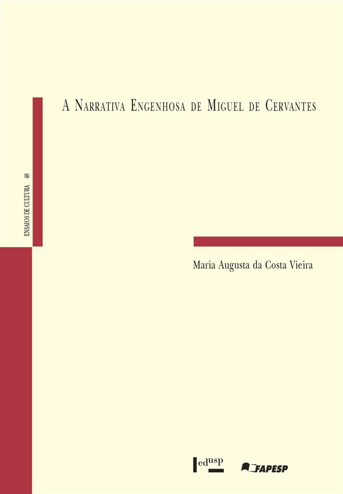 Capa de A Narrativa Engenhosa de Miguel de Cervantes