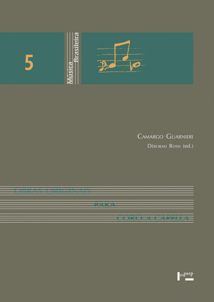 Capa de Obras Originais para Coro a Cappella