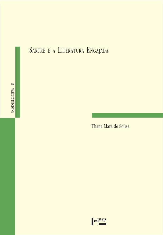 Capa de Sartre e a Literatura Engajada