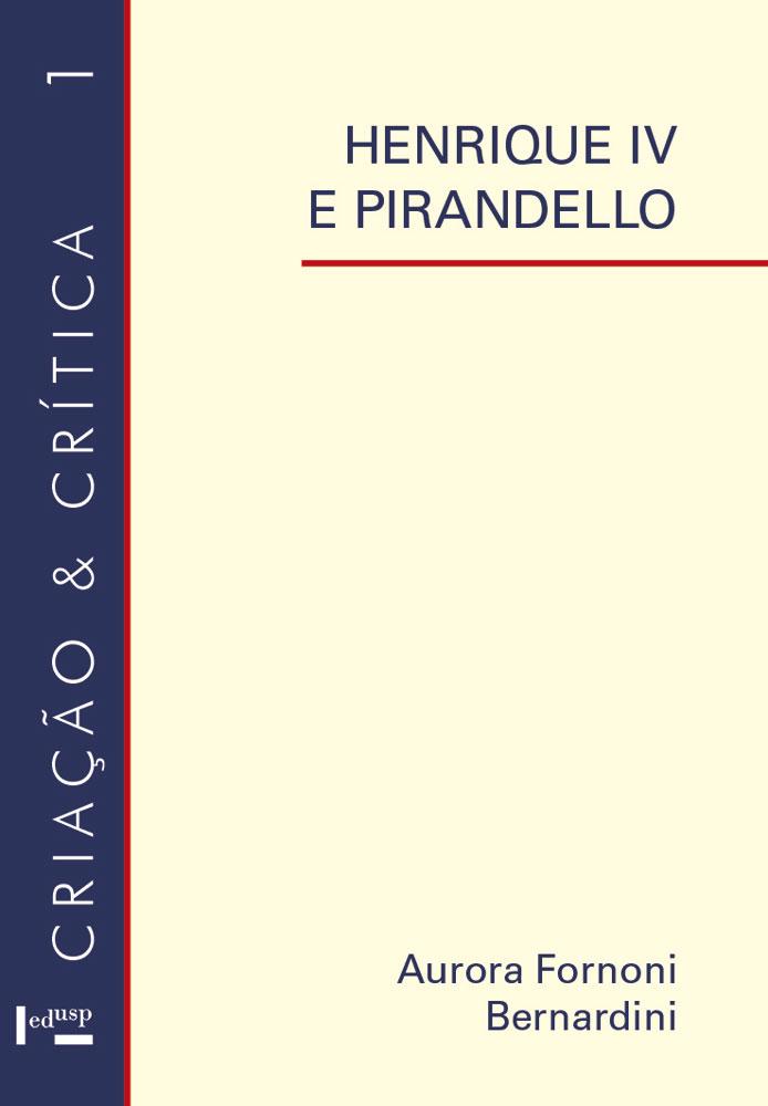 Capa de Henrique IV e Pirandello