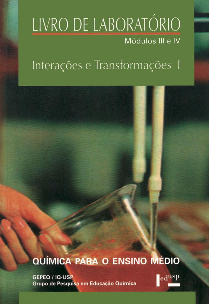 Capa de livro de laboratório III e IV de Interações e Transformações I