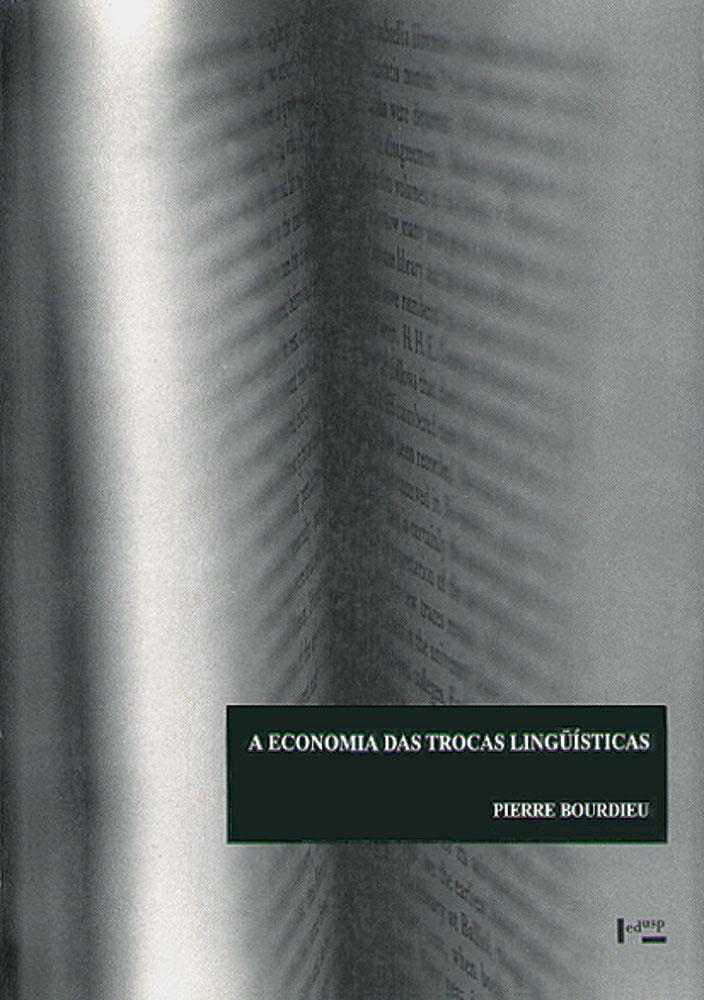Capa de A Economia das Trocas Linguísticas