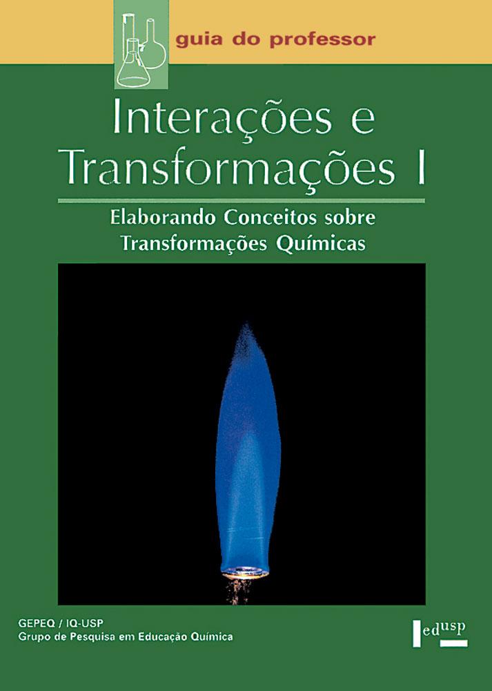 Capa de livro de professor de Interações e Transformações I