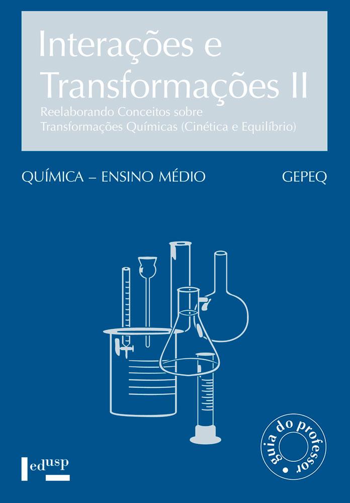 Capa de livro de professor de Interações e Transformações II