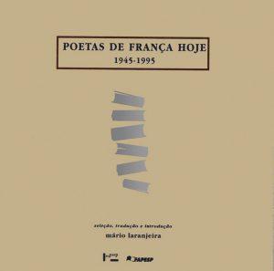 Capa de Poetas de França Hoje