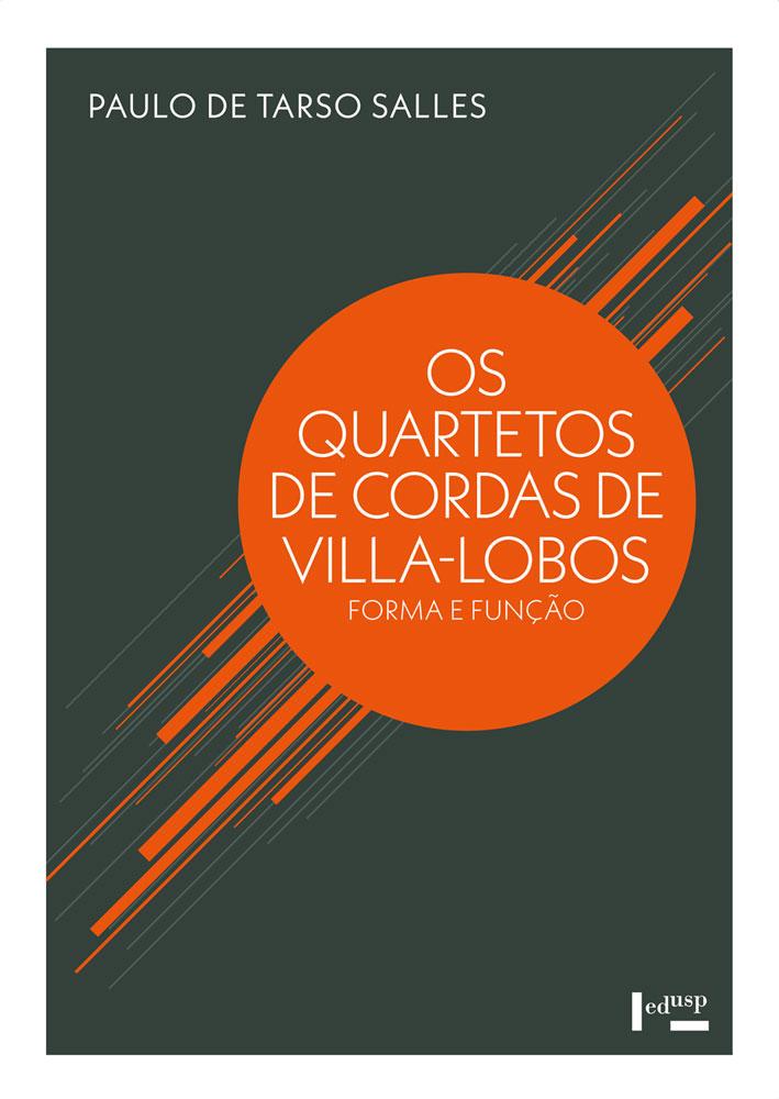 Capa de Quartetos de Cordas de Villa-Lobos