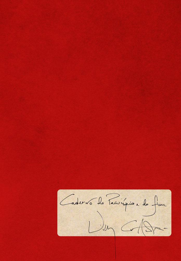 Capa de Caderno do Princípio e do Fim