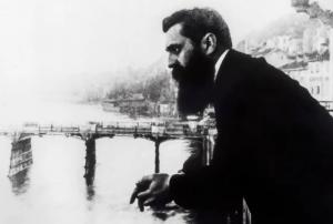 O escritor e teórico do sionismo Theodor Herzl – Foto: E. M. Lilien